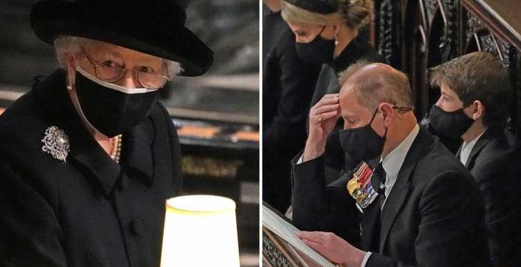 Queen 'was supported by her new rock Sophie of Wessex and Prince Edward' with tea after Phil's funeral