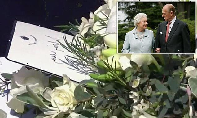Queen's final goodbye to Philip: Her Majesty leaves hand-written note