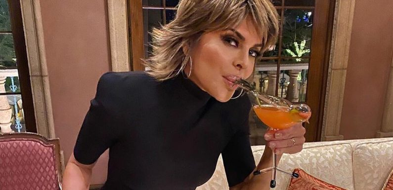 RHOBH's Lisa Rinna slammed for 'supporting alcoholism' after star shares 'horrible' post about drinking