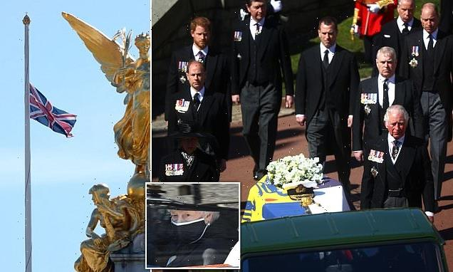 Royal family continue to grieve Philip´s death as national mourning…