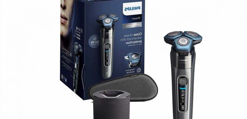 Save up to 62% in Philips men's shaving and grooming sale