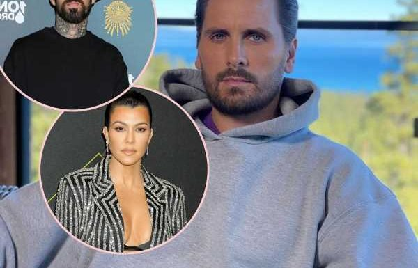 Scott Disick Is Distancing Himself From Kourtney Kardashian Due To Her Relationship With Travis Barker!