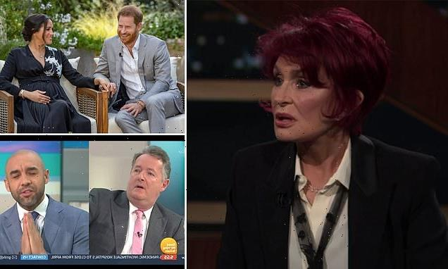 Sharon Osbourne talks exit from The Talk after defending Piers Morgan