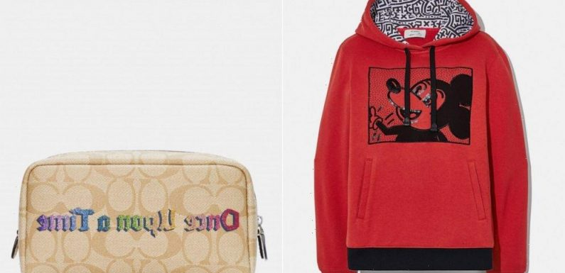 Shop the latest  Disney x Coach collection for up to 70% off