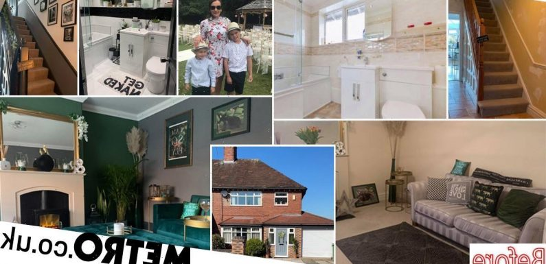 Single mum transforms ex-council house with after split from partner