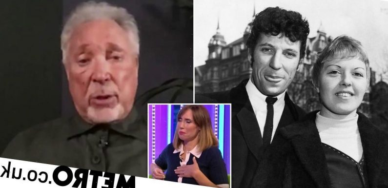 Sir Tom Jones tells emotional story of what late wife told him in her final days