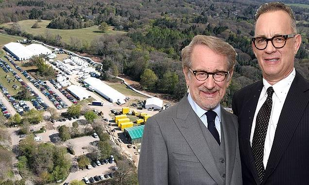 Spielberg builds £5M WWII US Airforce base for Masters Of The Air