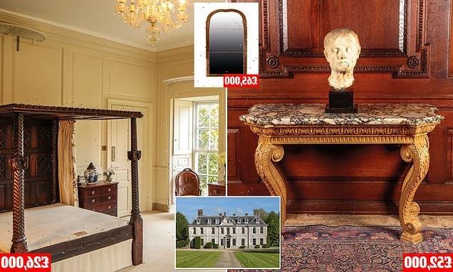 Successful financier's rare artefacts go under the hammer for £750,000