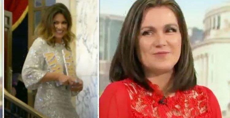 Susanna Reid addresses lockdown weight gain as pre-covid footage emerges on GMB