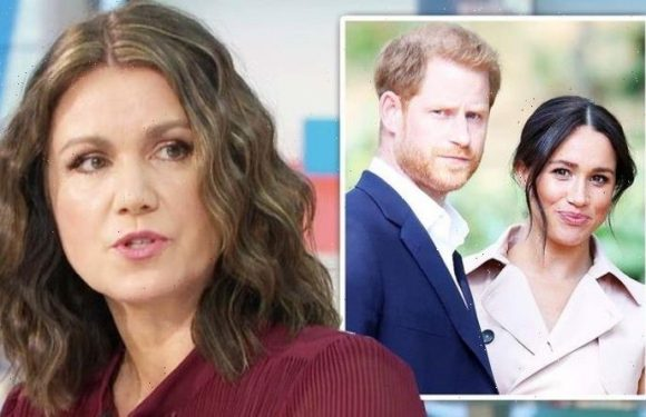 Susanna Reid quipped 'replace me with Meghan Markle' before Prince Harry swipe