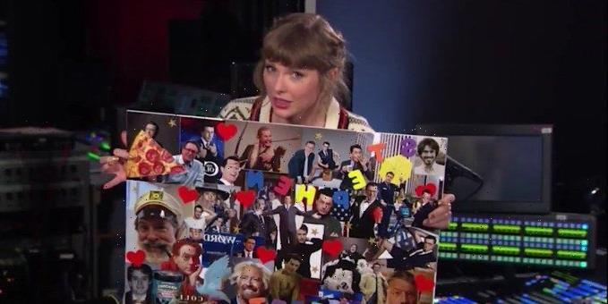 Taylor Swift Dropped So Many Easter Eggs During Her Stephen Colbert Interview