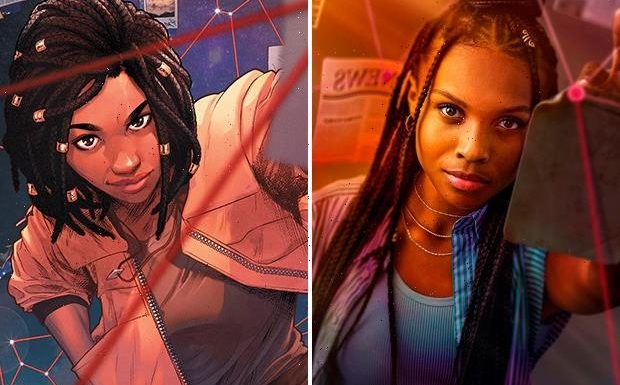 The CW's Naomi Enters the Multiverse in First Look at Ava DuVernay Pilot