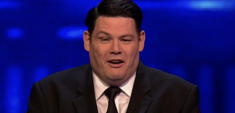 The Chase gets awkward as player's girlfriend says she is Mark Labbett mega-fan