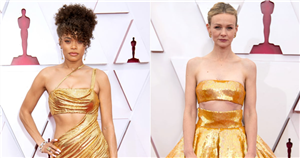 The Oscars Red Carpet Declared the Crop Top the Quintessential Summer Fashion Item