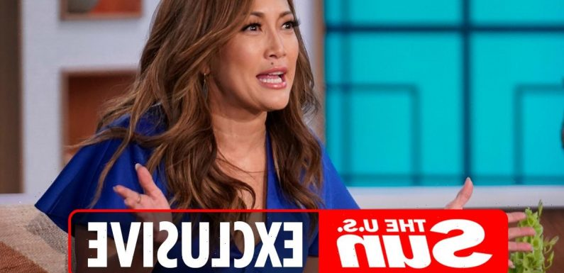 The Talk execs fear Carrie Ann Inaba will QUIT before season ends as they eye Jenna Dewan to replace her in cast shakeup