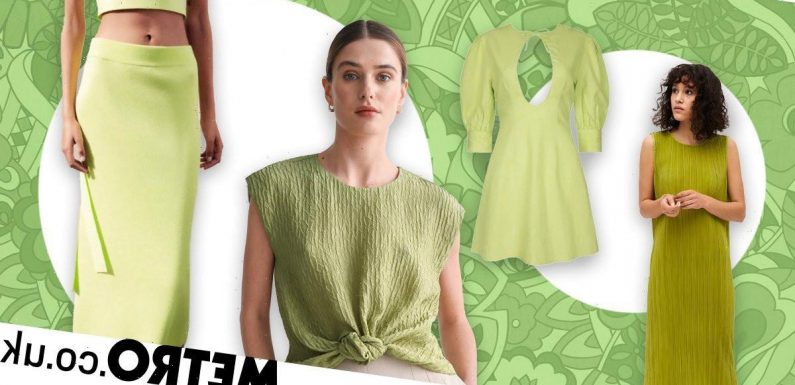 The best lime green pieces to buy right now, as it's this season's big colour