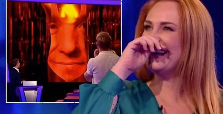 Tipping Point: Josie Gibson mortified by Ben Shephard's raunchy prize 'Is that your face?'