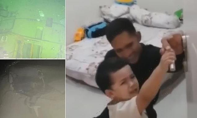 Toddler begs father not leave for doomed KRI Nanggala-402 submarine