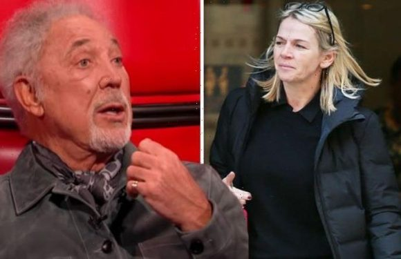 Tom Jones' phone goes off loudly mid-interview with Zoe Ball as he exclaims 'I'm sweating'