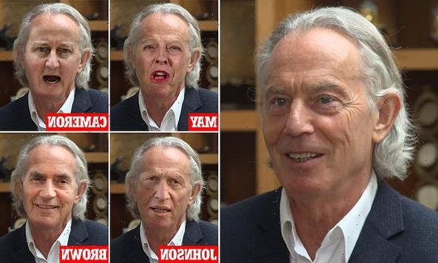 Tony Blair's new do styled by other celebs as stylists give verdict