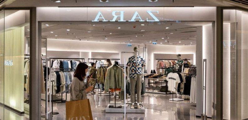 True meaning behind Zara's label symbols which indicate whether you need to size up or down