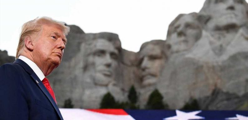 Trump claims he would be on Mount Rushmore if he were a Democrat