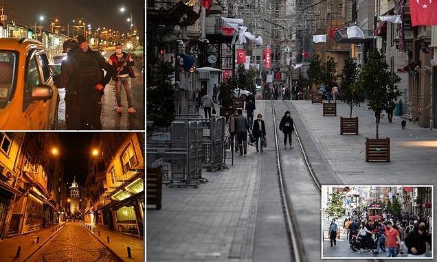 Turkey holidays under threat as country enters a three-week lockdown
