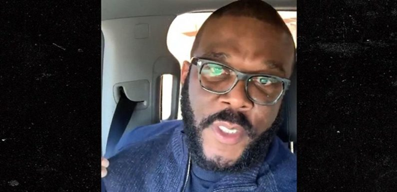 Tyler Perry Flies to Georgia to Vote in Person, Absentee Ballot Never Came