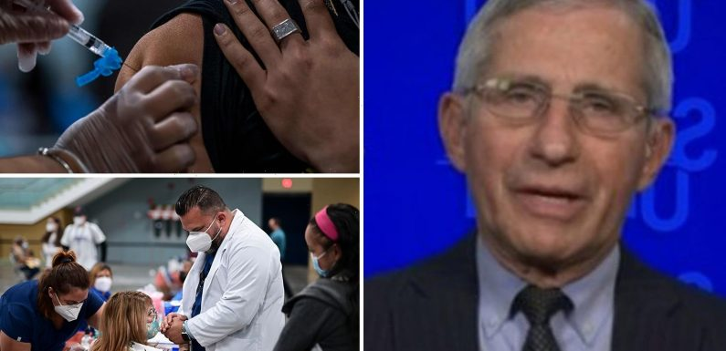 US officials nearly issued warning on Johnson & Johnson vaccine as Fauci confirms jab pause ends next week