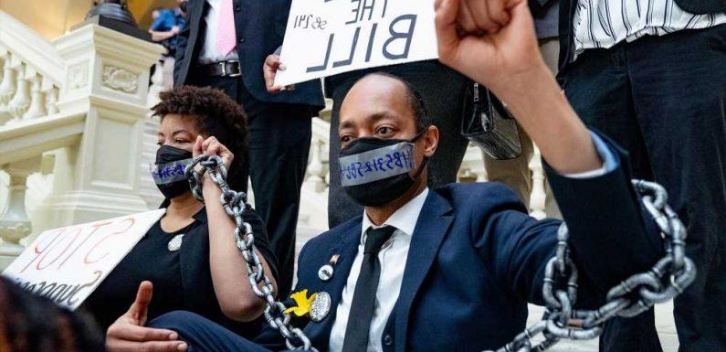 Victimization vs. honor in Atlanta: Culture clash in voter-law furor
