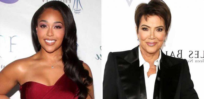 Wait, Did Kris Jenner Just Send Jordyn Woods a Personalized Gift?