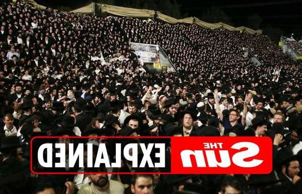 What caused the stampede in Israel?