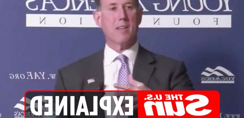What did Rick Santorum say about Native Americans?