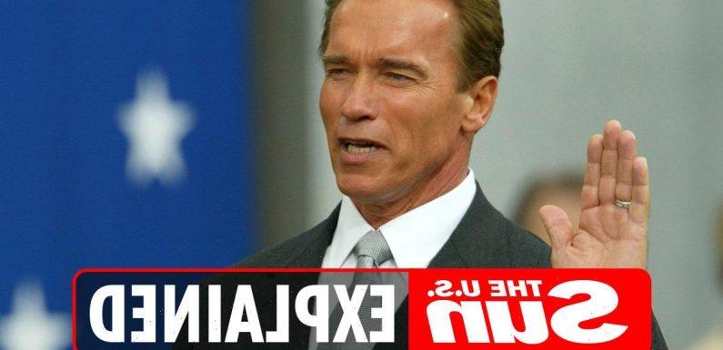 When was Arnold Schwarzenegger governor of California?