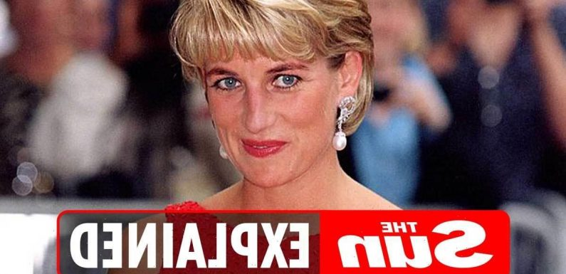 Where is Princess Diana buried and can you vist her grave?