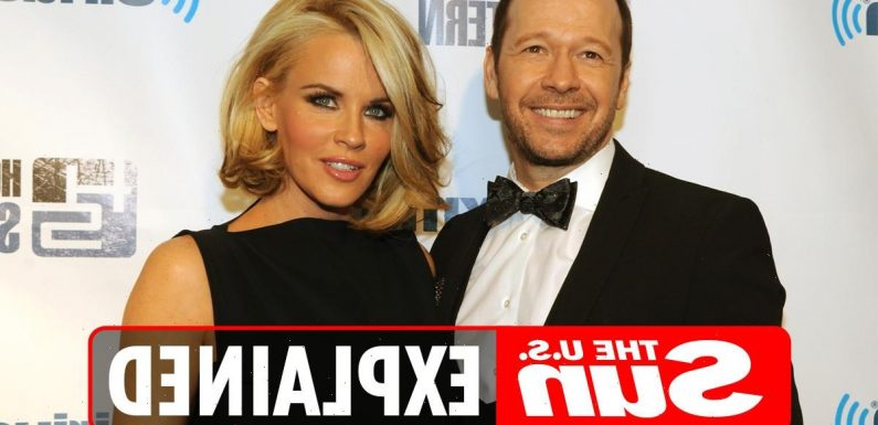 Who is Donnie Wahlberg's wife Jenny McCarthy?