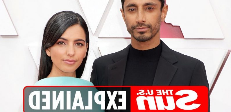 Who is Riz Ahmed's wife?