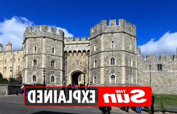 Who is buried at Windsor Castle?
