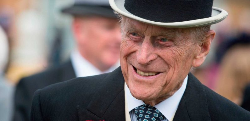 Who will walk in front of Prince Philip's coffin?