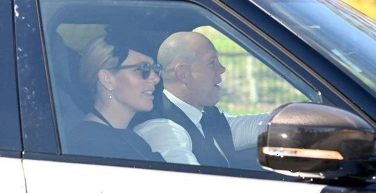 Zara Tindall copies Kate with drop pearl earrings and fascinator for Prince Philip funeral