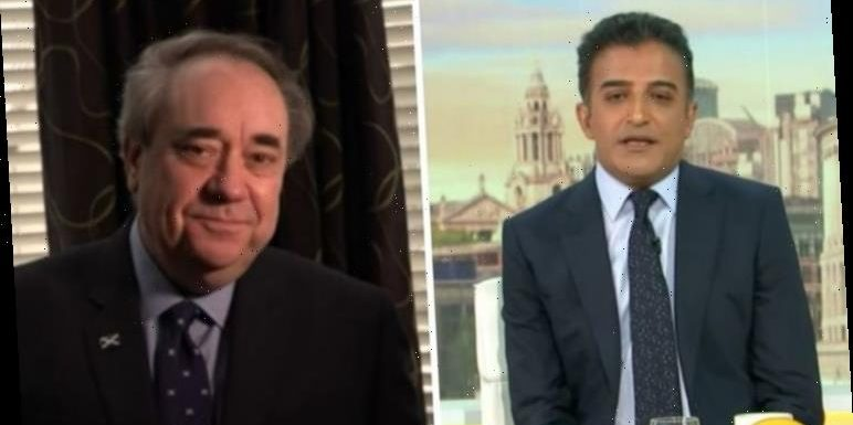 'Sturgeon not willing to work with you' Adil Ray skewers Alex Salmond on own 'ambition'
