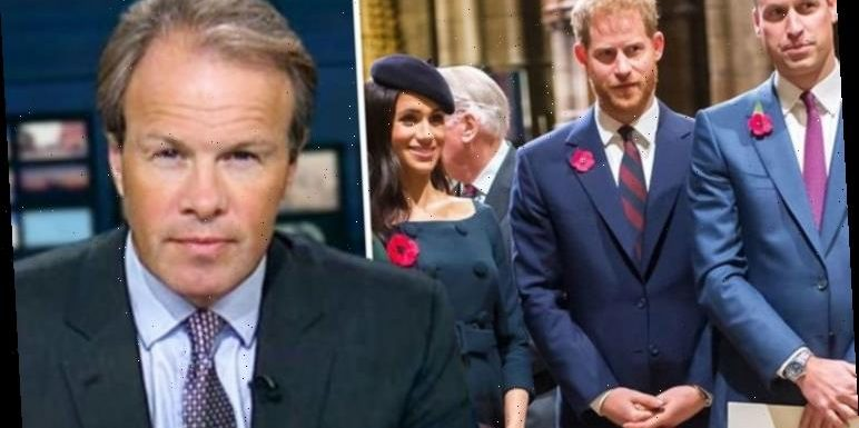 ITV newsreader Tom Bradby leaves Prince William 'annoyed' after 'siding' with Prince Harry