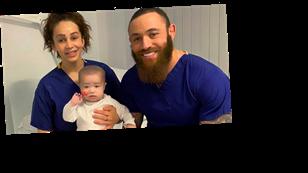 Ashley Cain's girlfriend Safiyya thanks London Underground over touching message for baby daughter Azaylia amid leukaemia battle