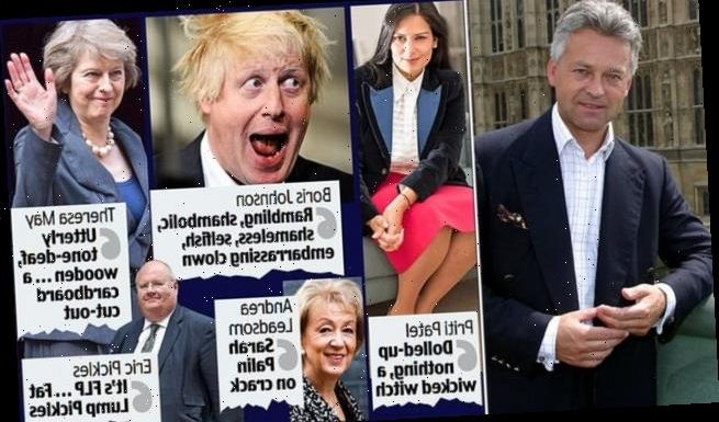 ALAN DUNCAN's wicked diary spills the vitriol on Boris 'the buffoon'