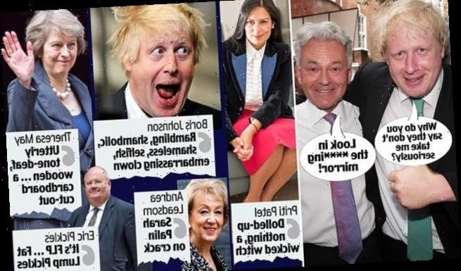 Boris 'the buffoon': Ex-foreign minister Alan Duncan's blast at PM