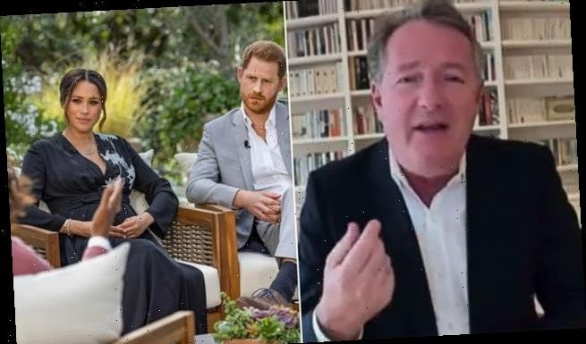 Piers Morgan says he's had messages from Royal Family