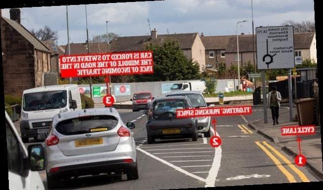 Fury at 'crazy' floating parking bays in Edinburgh