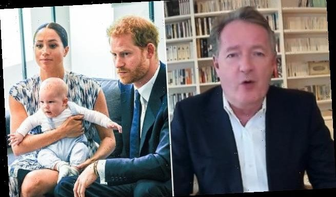 Piers Morgan calls for Meghan and Harry to name 'racist' Royal