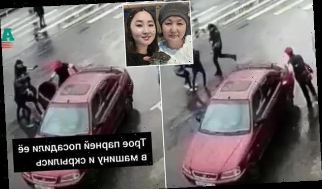 'Bride kidnapping' victim dragged into car in Kyrgyzstan and murdered