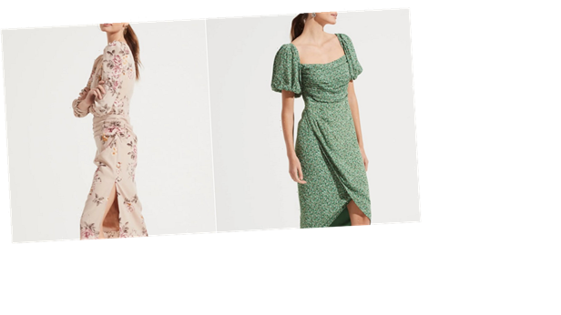 Floral Dresses For Spring? Why Yes, Because We'll Never Get Enough